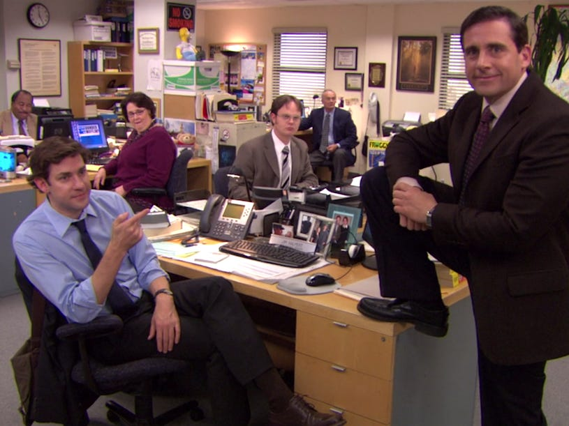 Office trivia character